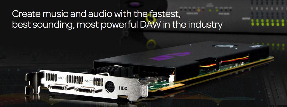 Pro Tools HDX